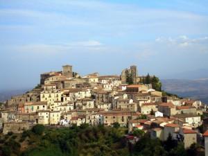 Panoramica di Altomonte in provincia di Cosenza