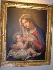Uno dei dipinti conservati nel Museo