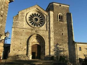 La bellissima facciata del Duomo di Altomonte