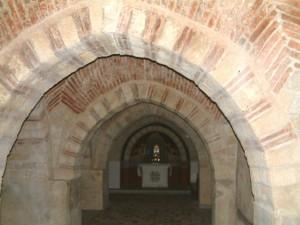 La cripta della Cattedrale di san Marco Argentano